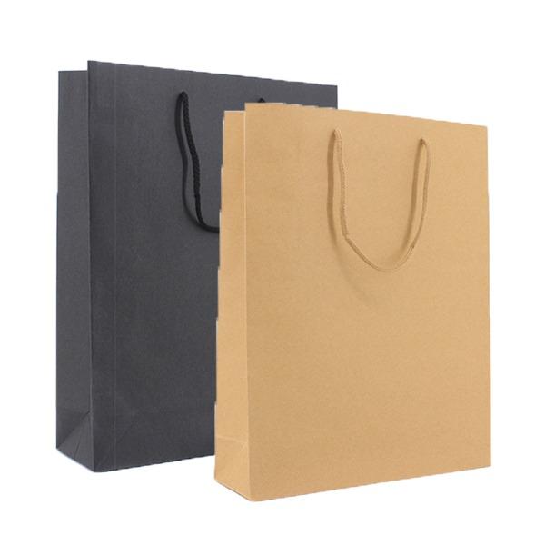 Luxe papieren kraft draagtassen