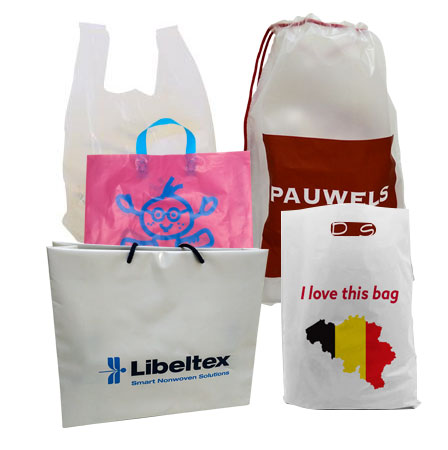 Plastieken draagtassen