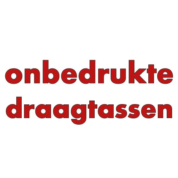 ONBEDRUKTE DRAAGTASSEN