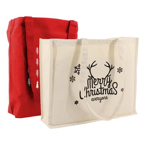 Katoenen en Canvas kersttassen