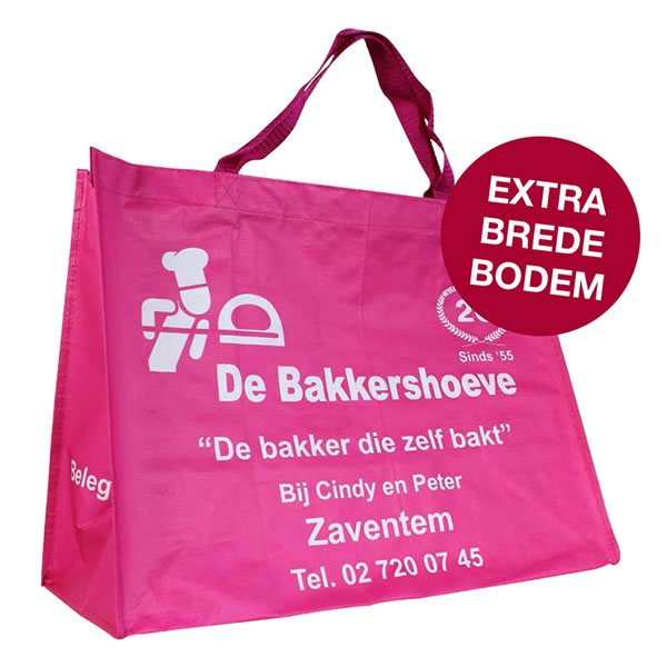 PP woven take away shopper