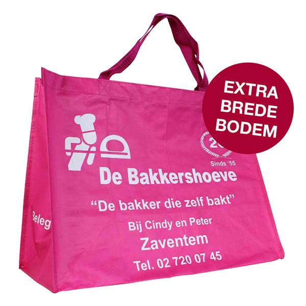 PP woven take away shopper