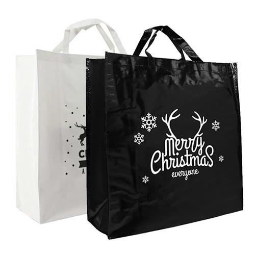 Kerst shoppers