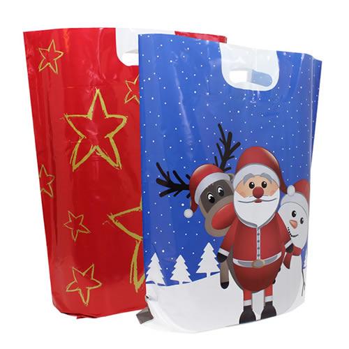 Plastic kersttassen