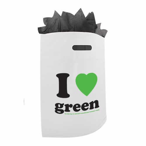Gerecycled plastic tas