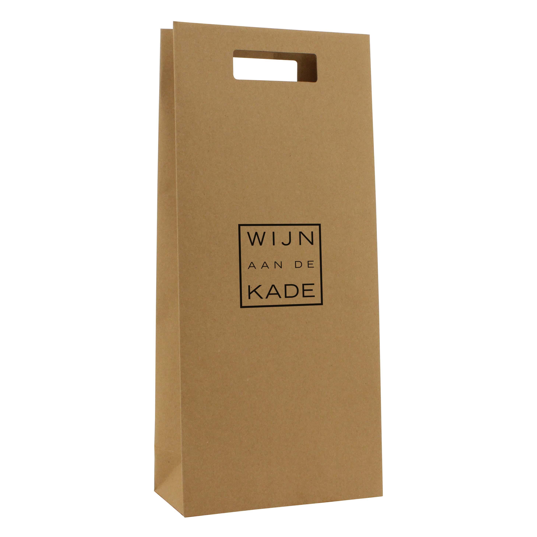 Papieren wijntassen