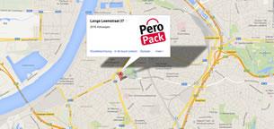 Route naar draagtassen Peropack Antwerpen